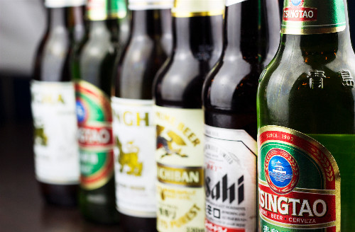 Asian beers available for delivery to Angel