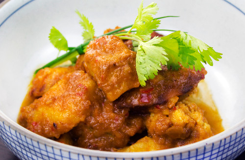 Vegetable Rendang - a delicious vegetarian/vegan dish available to order online